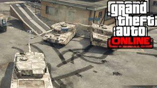 GTA 5 PC Online - Война с танкове