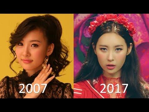Sunmi(선미) Evolution (2007-2017)