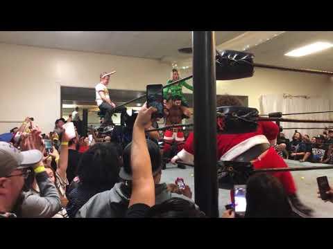 Bar Wrestling - 12/14/2017- Macaulay Culkin For The Win