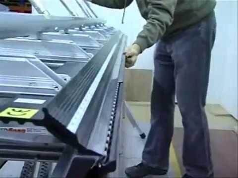 Видео работы листогибочного станка Tapco серии Max 20