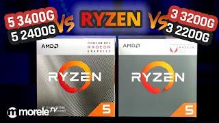 Testujemy nowe APU AMD I Ryzen 5 3400G i 3 3200G kontra 5 2400G i 3 2200G