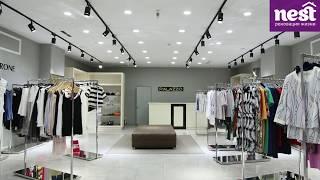 Отделка и ремонт магазина модной одежды