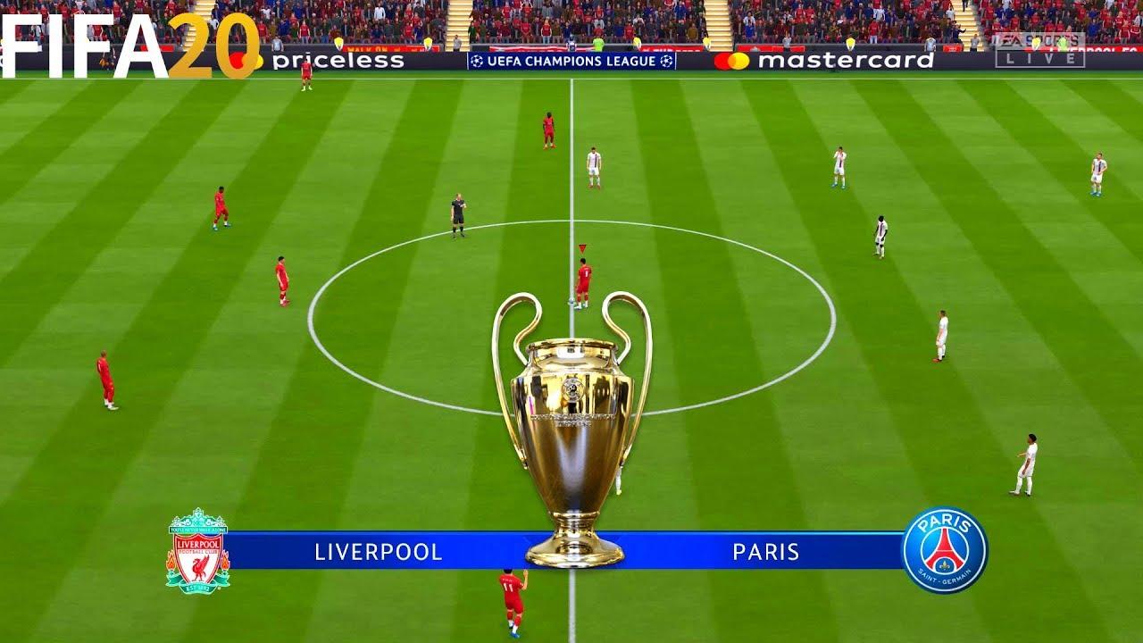 FIFA 20 | Liverpool vs PSG – UEFA Champions League UCL – Full Match & Gameplay