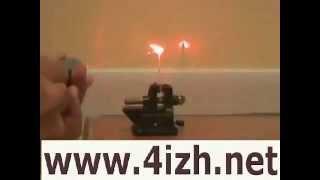 Сделать такой лазер можно самому -В домашних условиях
