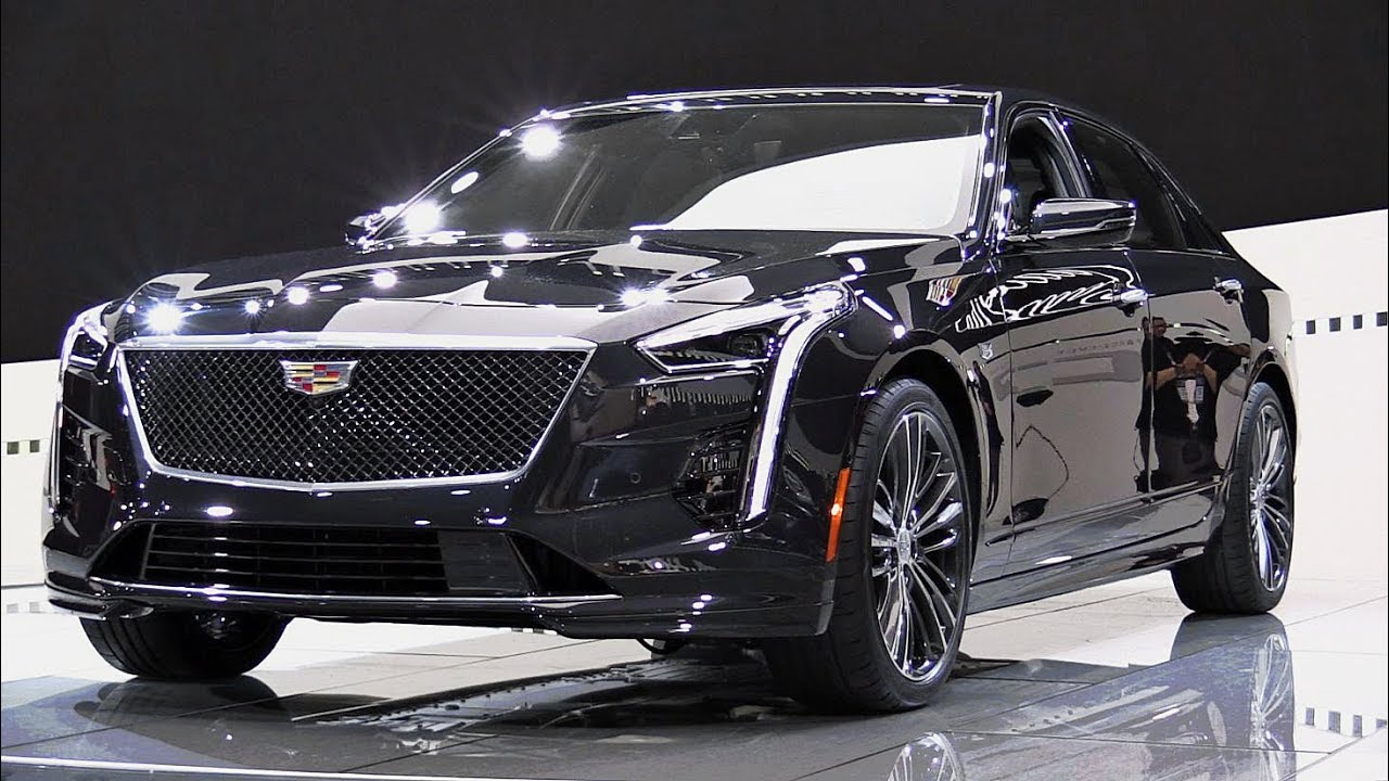 2019 Cadillac CT6 V-Sport: First Look - YouTube