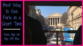 Video Paris Hop On Hop Off Bus | Best Way to See Paris in a Short Time | Paris in One Day download MP3, 3GP, MP4, WEBM, AVI, FLV Agustus 2018