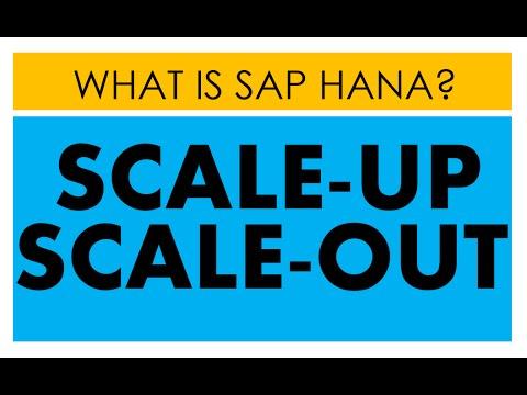 SAP HANA Scale Up vs Scale out