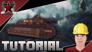 Minecraft: WW1 Char 2C Super-Heavy Tank Tutorial