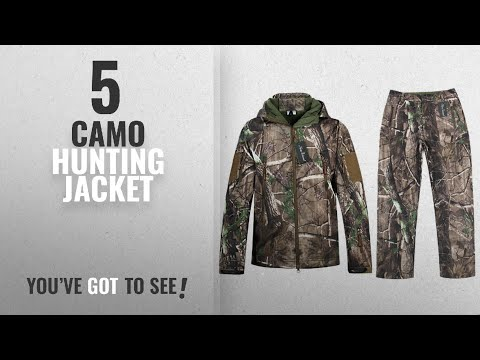 Top 10 Camo Hunting Jacket [2018]: Camo Jacket New View Waterproof Hunting Camouflage Hoodie