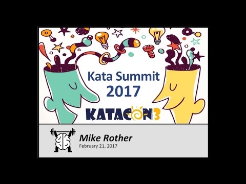 KataCon3 Opening Keynote - Mike Rother