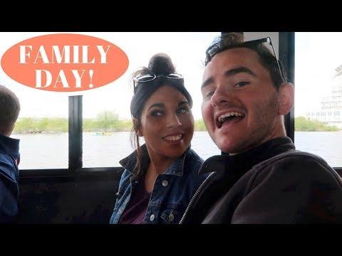 FAMILY DAY AT CARDIFF BAY! Vlog 59 | Charlotte Palmer Evans