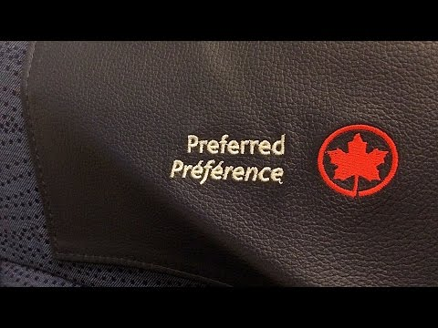 Preferred Economy Seating | Air Canada Airbus A319 Class Review | YYZ-YUL