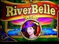 WMS River Belle MAX FREE SPINS 5c Denom Bonus Round GOOD WIN