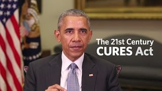 Obama Urges Passage Of Medical Cures Act