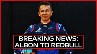 ALEX ALBON TO RED BULL, GASLY DEMOTED - DRIVER TRANSFER