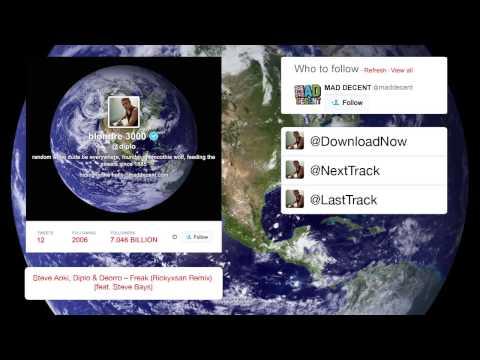 Steve Aoki, Diplo & Deorro - Freak (Rickyxsan Remix) [feat. Steve Bays]