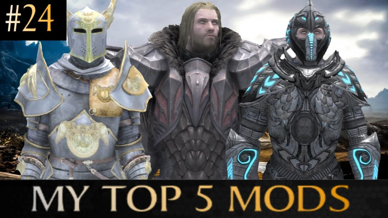 ▶Skyrim: Special Edition My Top 5 Mods◀ [#24] (Xbox One/PC)