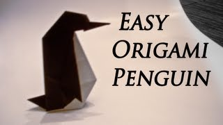 How to Make an Easy Origami Penguin