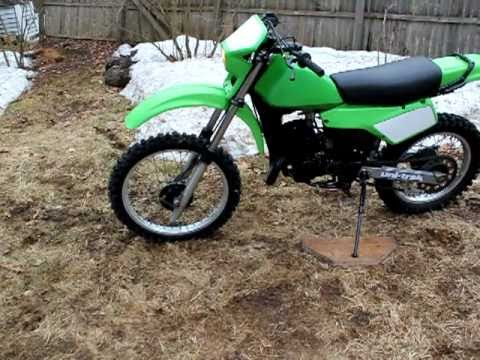 0bfb5e307749 1983 Kawasaki KDX200 Restored - YouTube