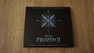 FROZEN 2 Soundtrack CD Unboxing