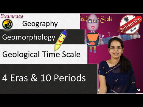 Geological Time Scale with reference to India - 4 Eras & 10