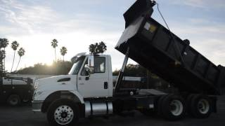 2007 International Dump 3 Axle 7500 / Charter Trucks - u10511