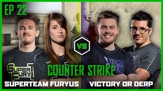 EP 22 | COUNTERSTRIKE | Syndicate and OMGitsfirefoxx vs Jovenshire and Terroriser | LOG