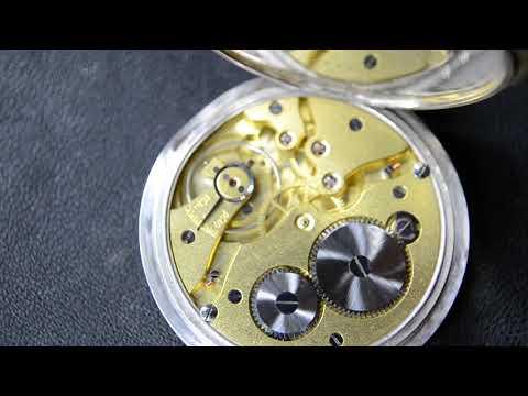 49mm Rolex Antique Pocket Watch Transformed To Wrist Solid Silver Niello