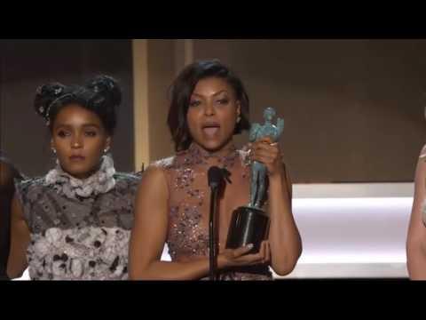 Taraji P. Henson's emotional speech at The 23rd Annual Screen Actors Guild Awards