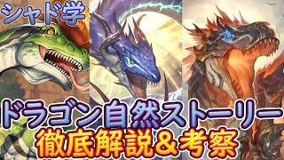 【シャドウバース】シャド学 ドラゴン自然カードストーリー徹底解説&考察! 適応…