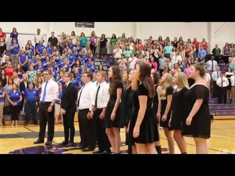 Dodecaphonics & Dodecachics perform National Anthem