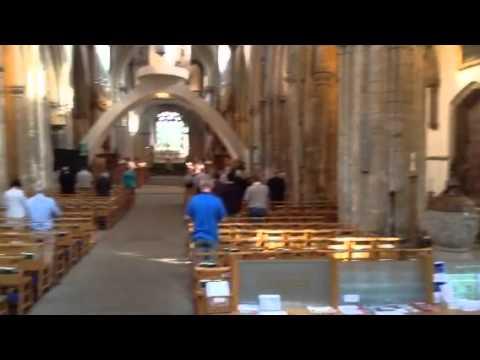 Llandaff Cathedral. Cardiff, Wales U.K.