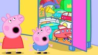 Peppa Pig en Español - Caja de juguetes Peppa Pig! - Dibujos Animados