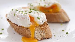 Готовим яйцо пашот за 1,5 минуты. Вкусный и необычный завтрак
