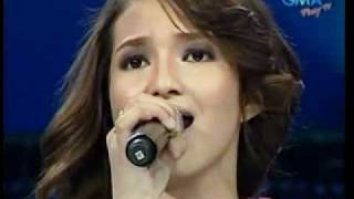 "Sarah Lahbati sings ""Dapat Ka Bang Mahalin?"" on GMA 7's 60th Anniversary Special"