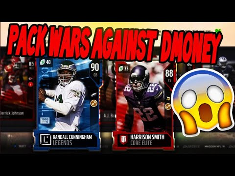 PACK WARS AGAINST DMONEY (DOWN TO THE WIRE) MUT 18!!!!