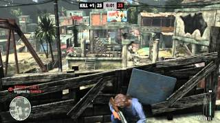 Max payne 3 (PC)-Team Deathmatch on a Alienware M17X R3 3D enabled