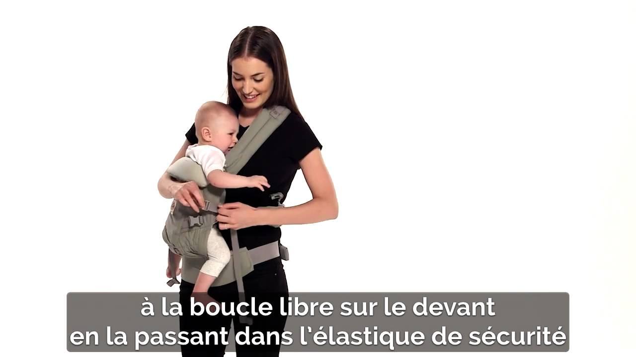 instructions porte bebe ergobaby adapt position sur la hanche