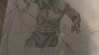 My naruto drawings of Kakashi, Sasuke and Iruka
