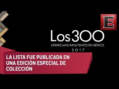 Raúl Fernández y la los 300 líderes más influyentes de México 2017