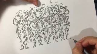 Drawing the Borg