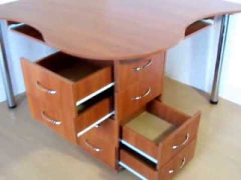 """Компьютерный стол на 2 рабочих места """"дуплет"""" - youtube."""