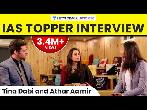 Tina Dabi and Athar Aamir - IAS Topper Interview on Life after cracking UPSC CSE/IAS Exam