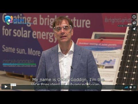 Oscar Goddijn about DSM Advanced Solar
