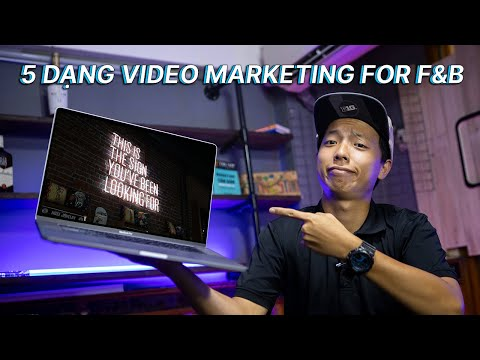 5 DẠNG VIDEO MARKETING CHO F&B ✅ SƯƠNG MEDIA | Quay Phim Chụp Ảnh Hạ Long