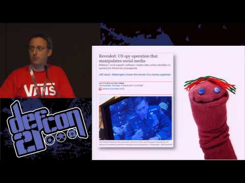 DEF CON 21 - Chris Sumner and Dr. Randall Wald - Predicting Susceptibility to Social Bots on Twitter