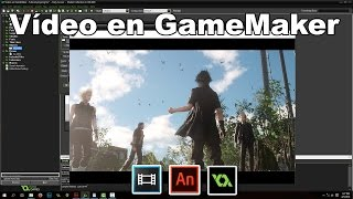 Como poner escenas de vídeos en GameMaker Studio