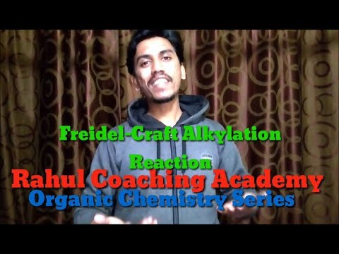 Tripsy Tricks For Organic Chemistry || Friedel-Craft Alkylation Reaction || Rahul Coaching Academy