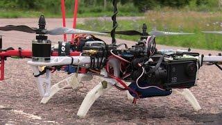 Квадрокоптер Tbs discovery сетап обзор
