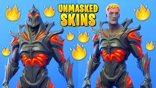 I removed the Masks on My Fortnite Skins and they looked amazing..! (Unmasked Ruin)